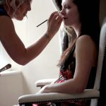 Bride & make-up artist