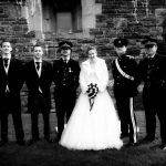 Best men with Bride
